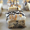 Cheesecake Chocolate Chip Cookie Bars, Vegan + Gluten-Free