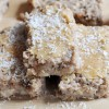 Cinnamon Raisin White Bean Blondies, Vegan + Gluten-Free