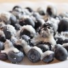 Summer Snack: Coconut Butter Blueberries