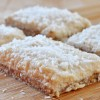 Raw Vegan Lemon Coconut Bars (Gluten-Free)