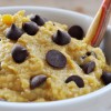 Chocolate Chip Pumpkin Cookie Dough Dip, Vegan+ Gluten-Free