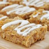 Sweet Potato Snack Bars with Cream Cheese Frosting (Vegan, Gluten-Free)