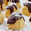 No-Bake Maple Pumpkin Coconut Macaroons, Vegan+ Gluten-Free