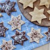 Chanukah Star Cookies, Vegan + Gluten-Free