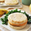 Vegan, Gluten-Free Neat Breakfast Sandwich with Maple Butter