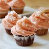 Valentine's Day Cupcakes with Strawberry Icing, Vegan + Gluten-Free