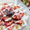 No-Bake Strawberry Coconut Cream Pie, Vegan + Gluten-Free