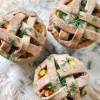 Thanksgiving Vegan Mini Pot Pie Jars