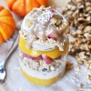 Vegan Pumpkin & Apple Pie Yogurt Parfait