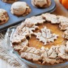 Vegan Pumpkin Pie with Decorative Spelt Crust