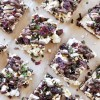 Vegan Cranberry-Kale Popcorn Marshmallow Holiday Bark