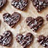 Raw Chocolate Fudge Hearts, Vegan & Gluten-Free