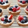 Vegan Sour Cream Berry Mini Tarts