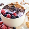 Easy Berry Breakfast Smoothie Bowl, Vegan & Gluten-Free