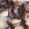 Tahini-Chocolate Freezer Fudge Cups, Vegan & Gluten-Free