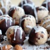 Almond Milk Pulp Chocolate-Coconut Balls, Vegan + Gluten-Free