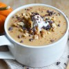 Pumpkin Pie Smoothie Bowl (Secret Ingredient: Cauliflower!), Vegan + Gluten-Free