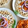 Vegan Everything Bagel WAFFLES with Carrot