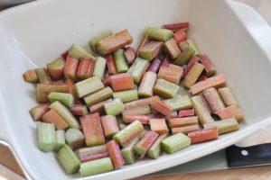 Vegan Coconut Rhubarb Pudding 4