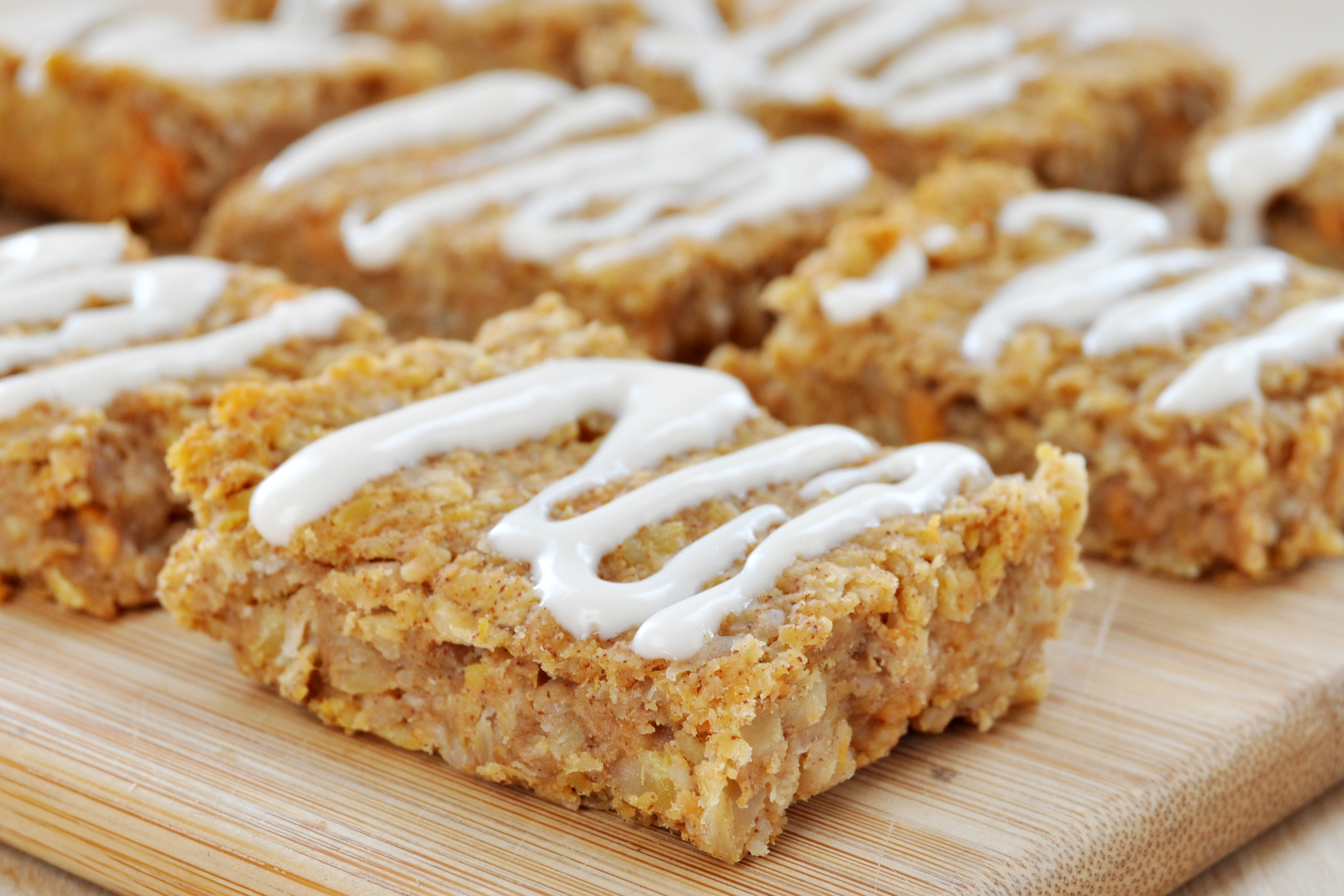 pumpkin spice granola bar recipe