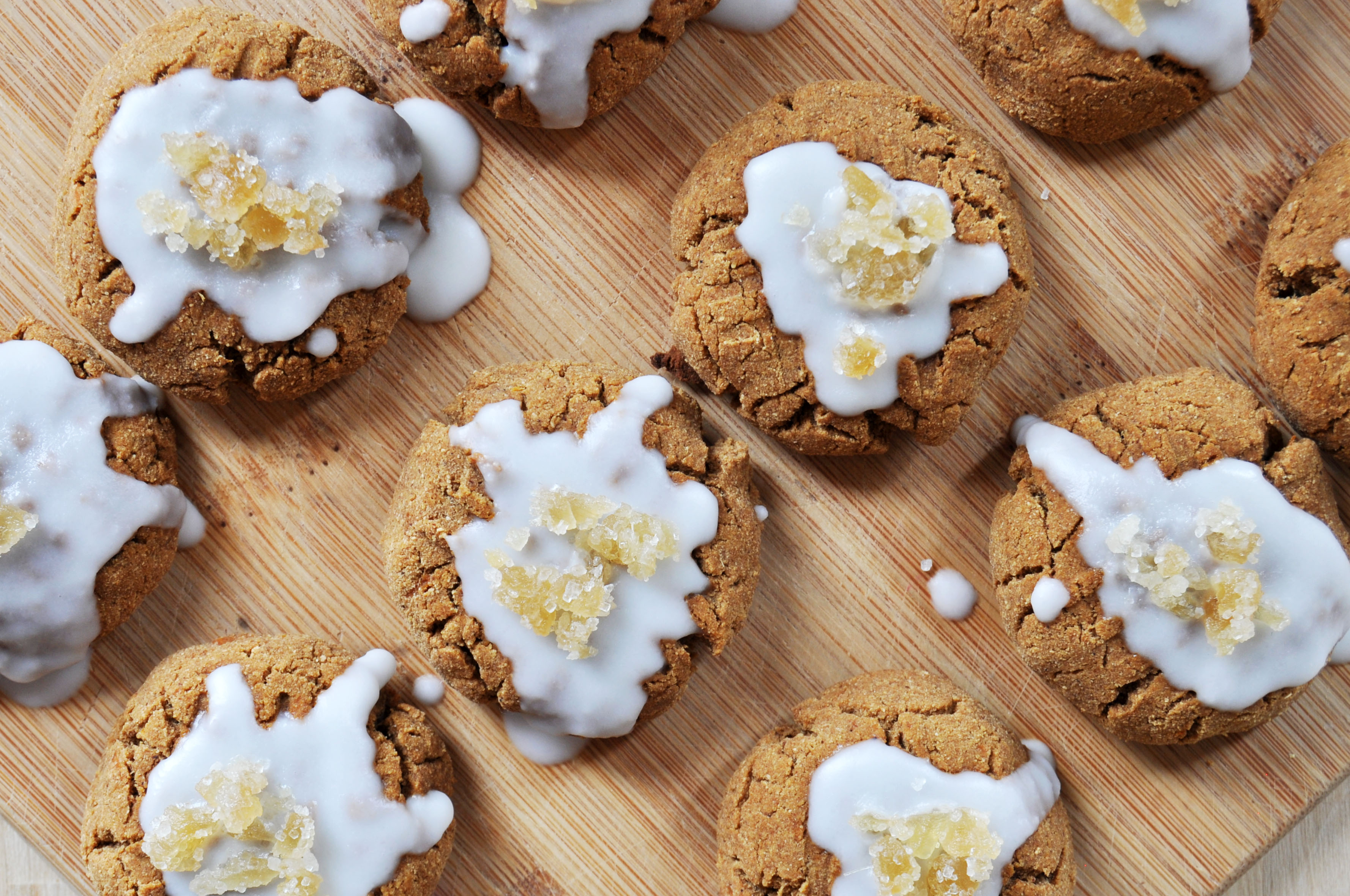 Soft and Chewy Gingerbread Cookies, Vegan + Gluten-Free