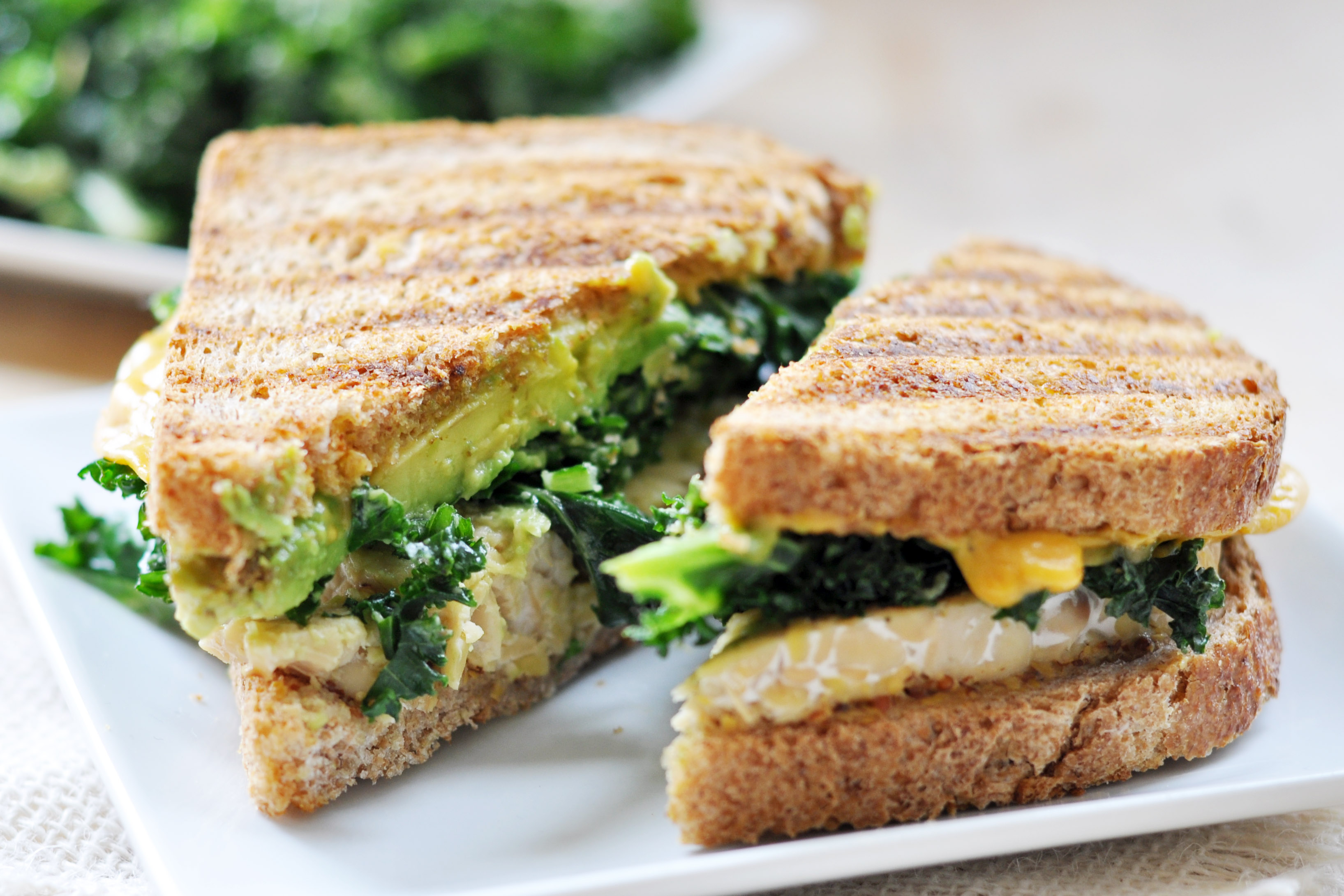 Vegan Grilled Sandwich Magic The Colorful Kitchen