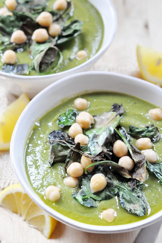 Creamy Spinach Soup 2