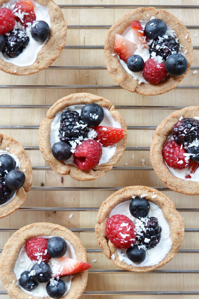 Sour Cream Berry Mini Tarts 2