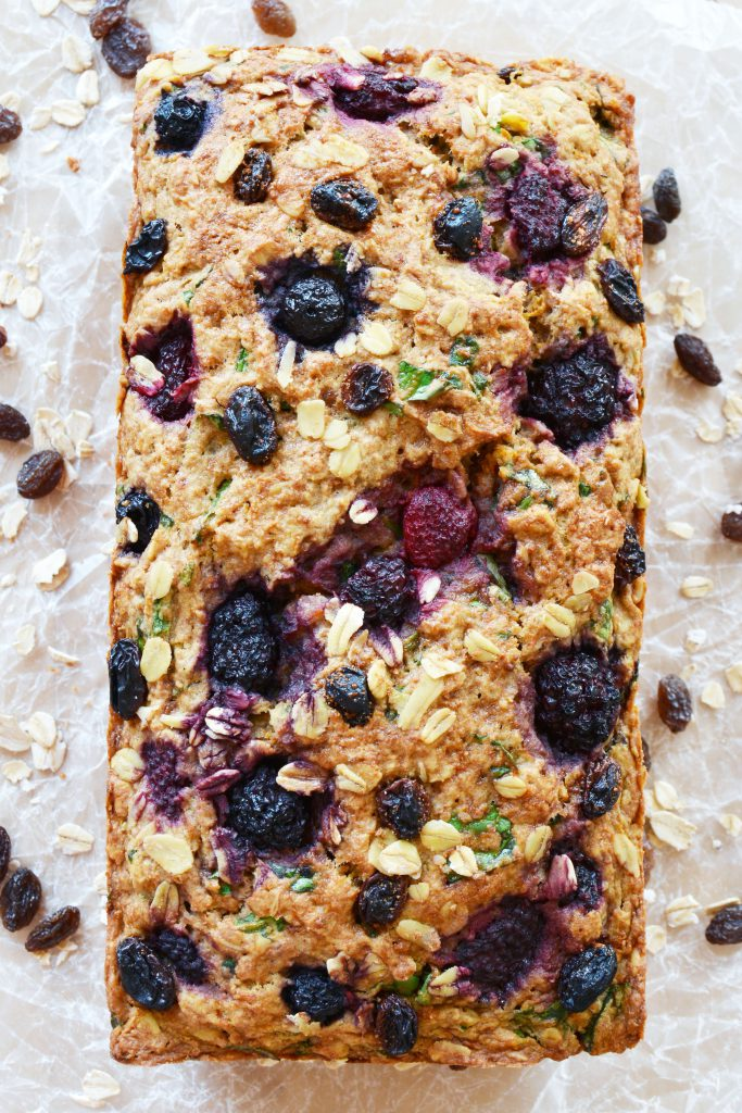Fruit and Veggie Breakfast Loaf