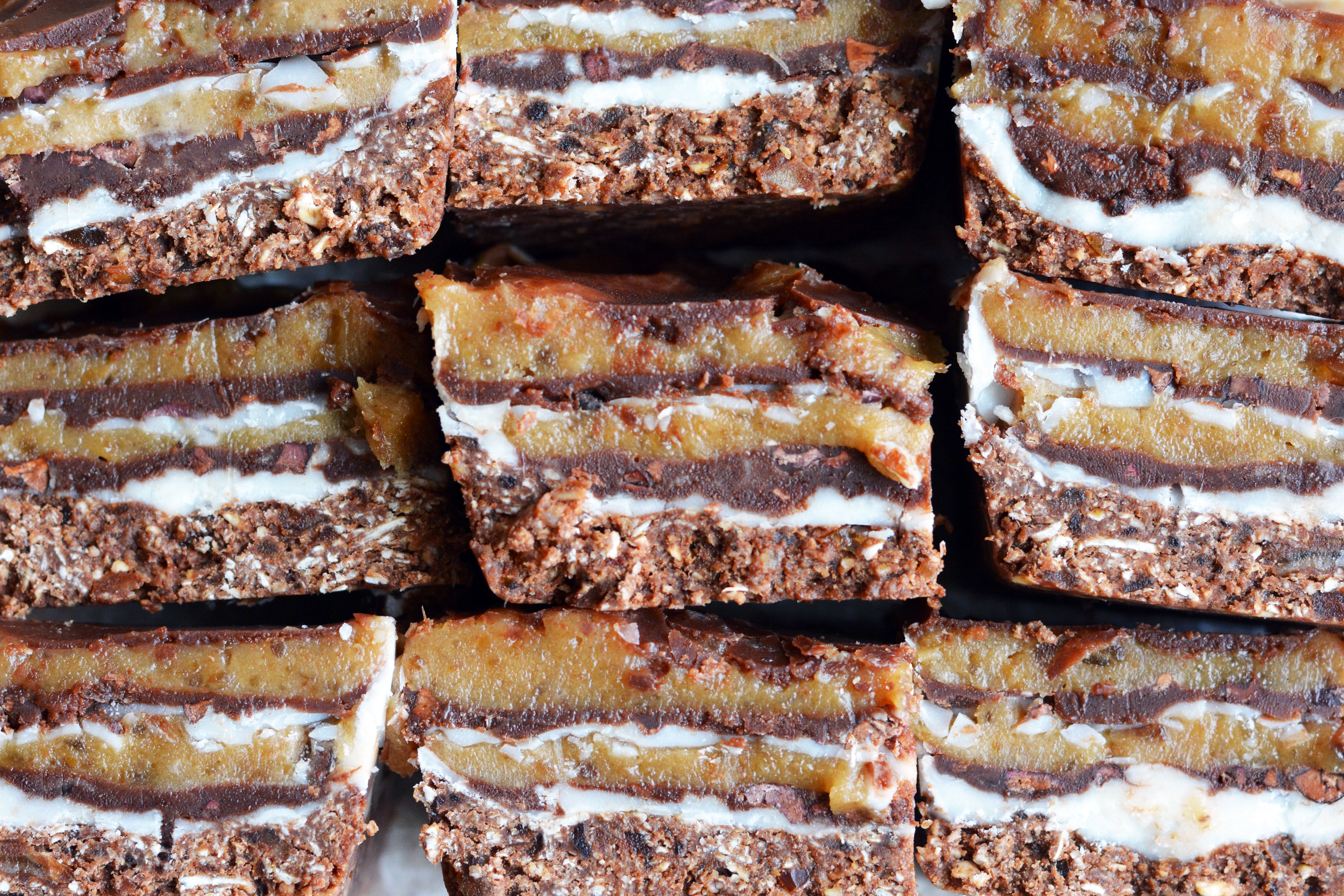 No-Bake Amazing Everything Bars (Vegan, Gluten-Free ...