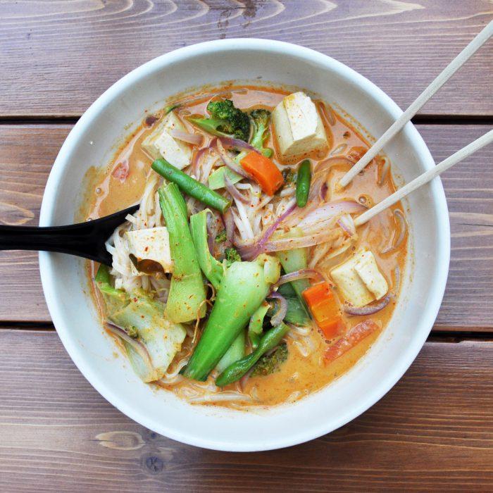 Green Kitchen Vegan Cafe: Vegan Sage Thai Restaurant Williamsburg Brooklyn