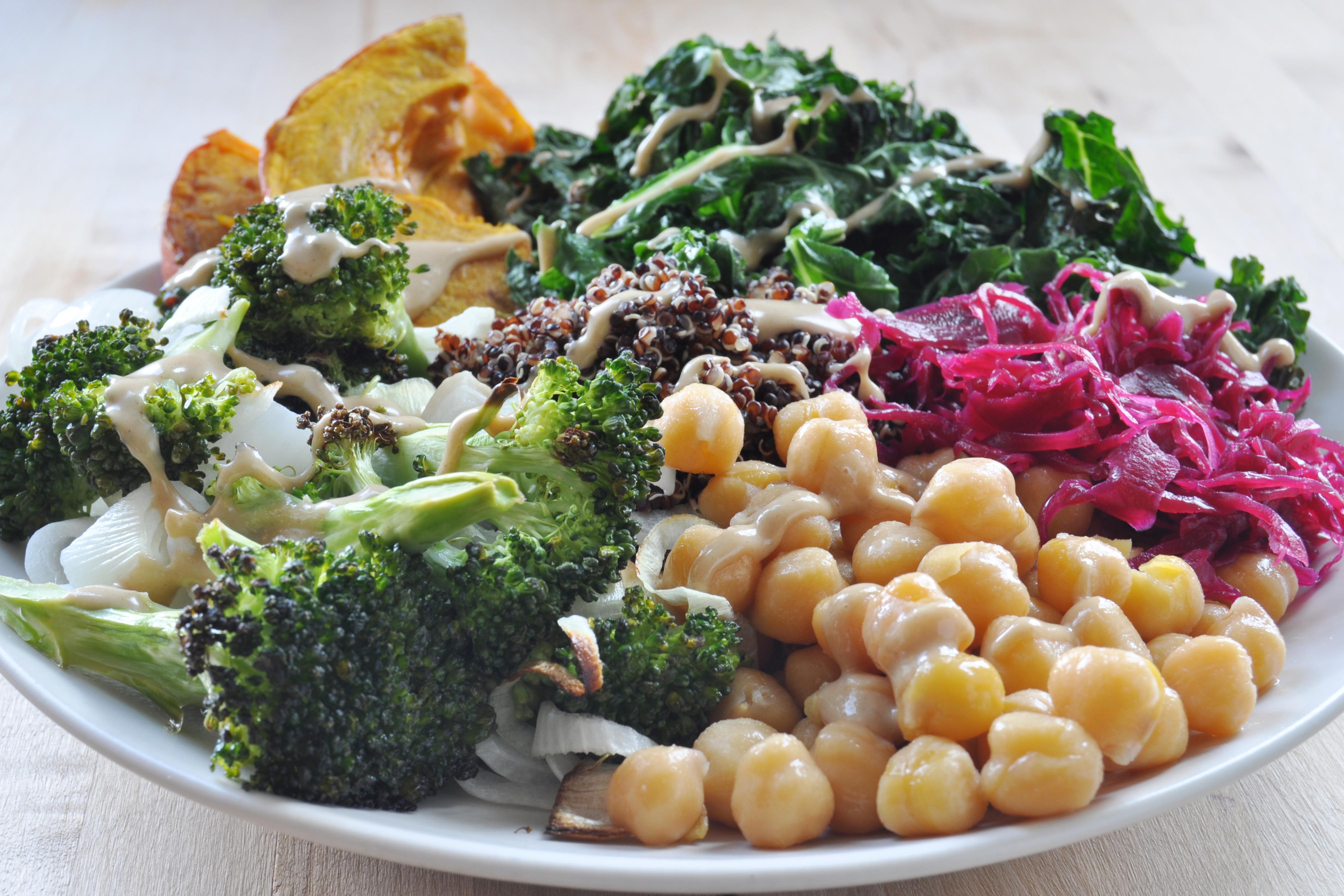 macro diet free vegetables