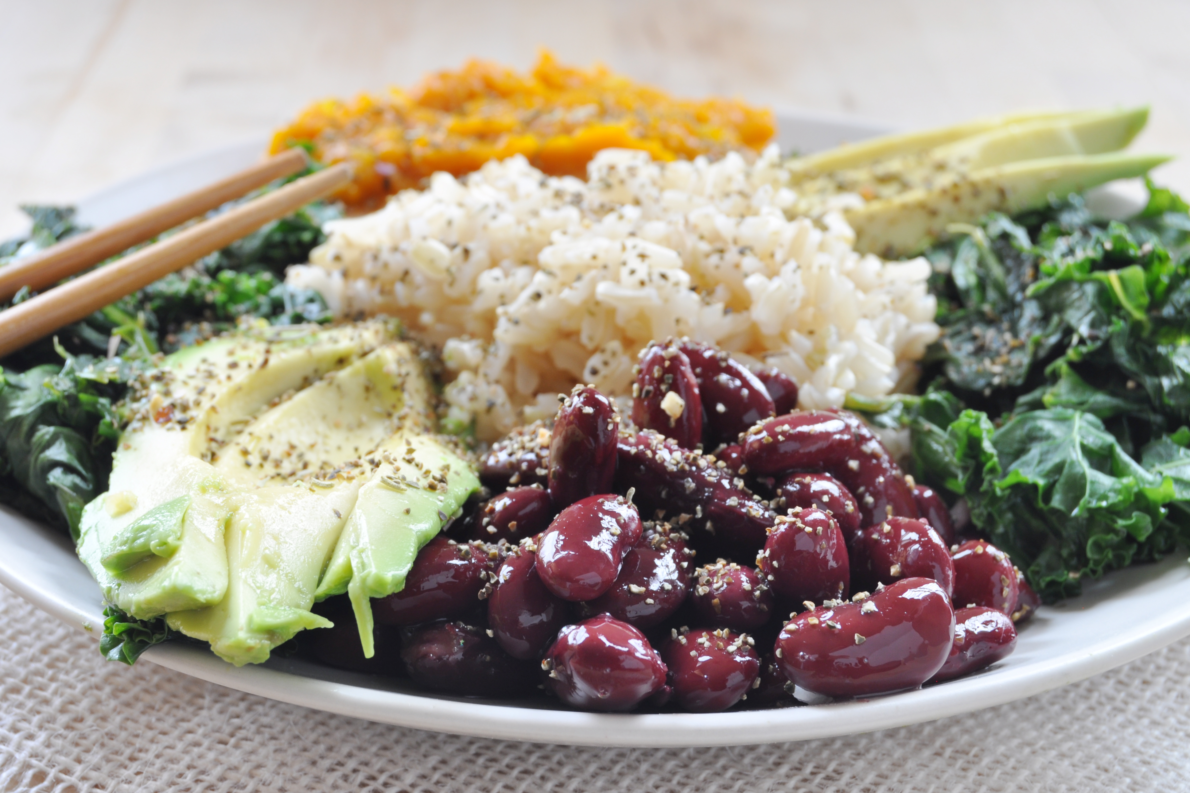 Red Beans And Rice Macro Plate Vegan Gluten Free The Colorful Kitchen