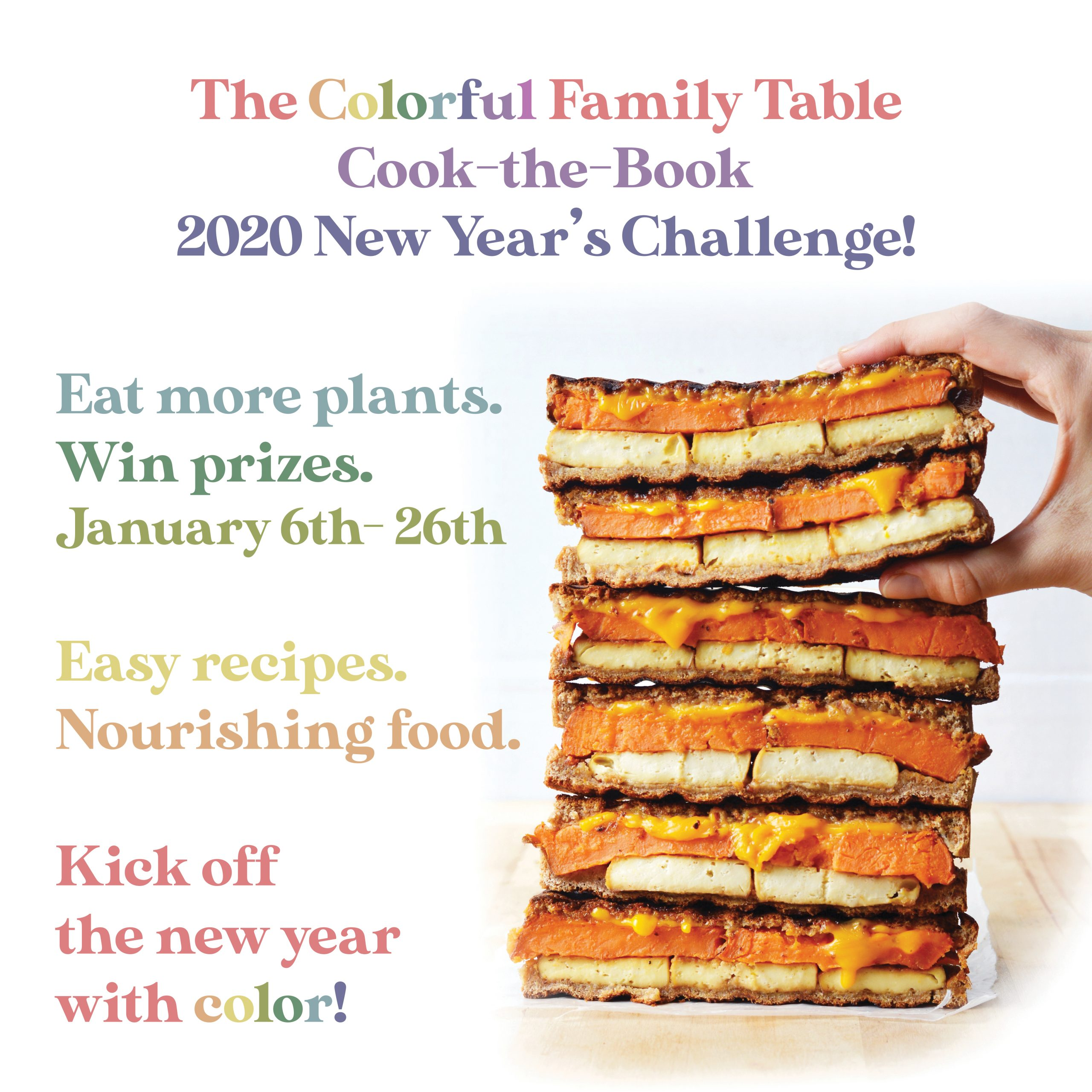 Tcft Cook The Book 2020 New Years Challenge The Colorful